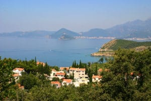 Сайт недвижимости в Черногории