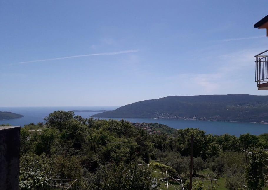 Дома в черногории с видом на море
